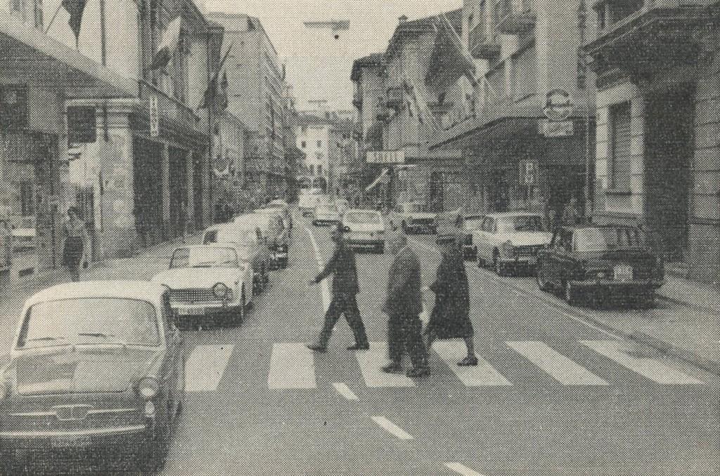 Corso San Gottardo, Agosto 1967