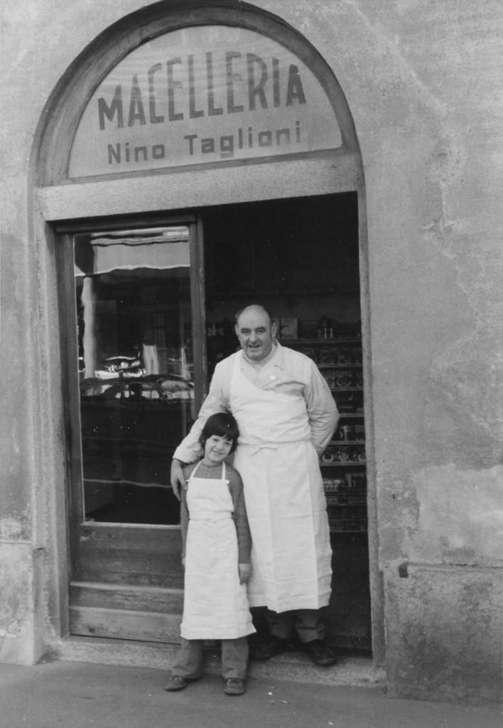 Nino Taglioni e figlio Ottobre 1973