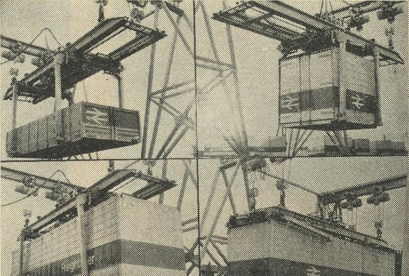 Con i containers direttamente dalla nave al treno e dal treno all'automezzo