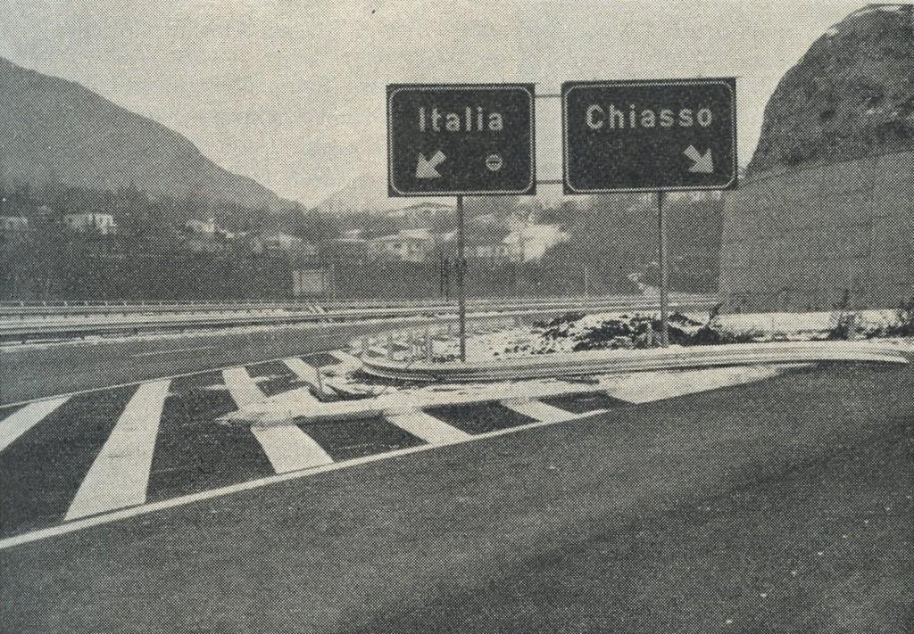 La nuova autostrada, tratto Chiasso-Basilea